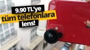 9.9 TL ile telefonunuza geniş açı kamera eklemek