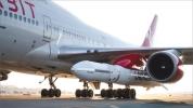Virgin Orbit, Boeing 747'nin kanadından roket ateşledi