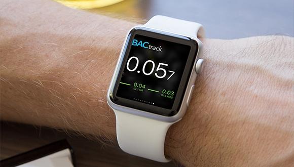 Alkol ölçümü yapan Apple Watch kayışı!