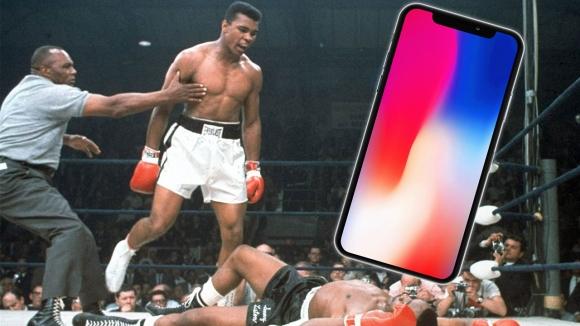 iPhone X için Muhammed Ali imzalı video