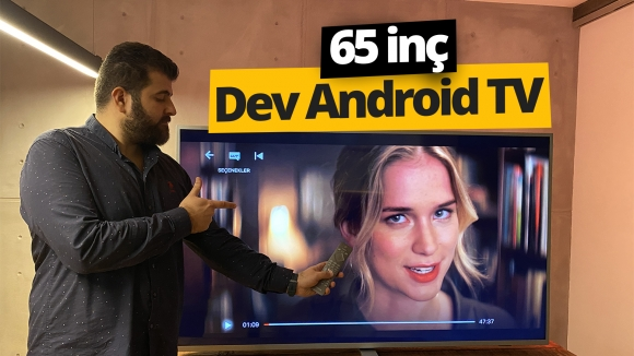 65 inç Dev Android TV Philips 65PUS7304 inceleme
